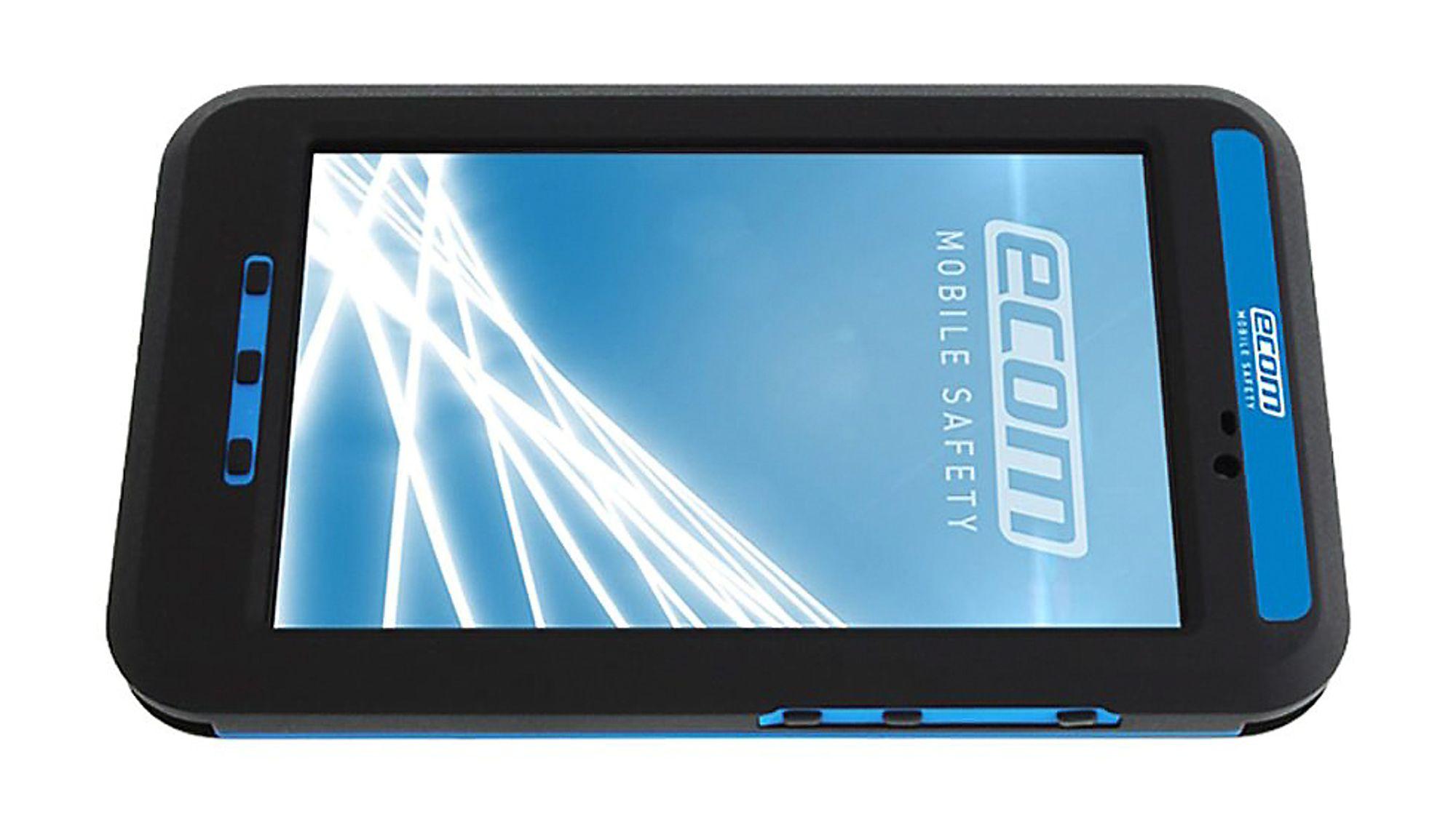 Tab-Ex fra Ecom. Nettbrett basert på Samsung Galaxy Tab Active. Godkjent for Ex sone 1. Android 4.4