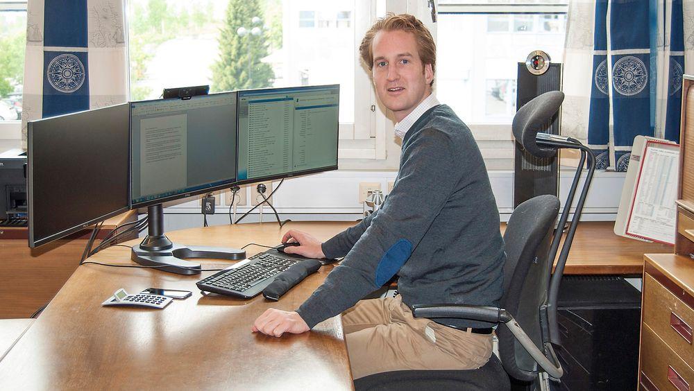Tobias Cock, administrerende direktør i J.S. Cock ser nedgangen som midlertidig, og forbereder et sterkere selskap når oppgangen kommer.