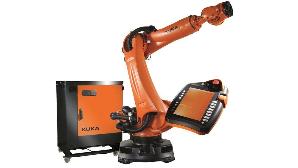 Kuka Quatnec Robot med smartPAD styreenhet