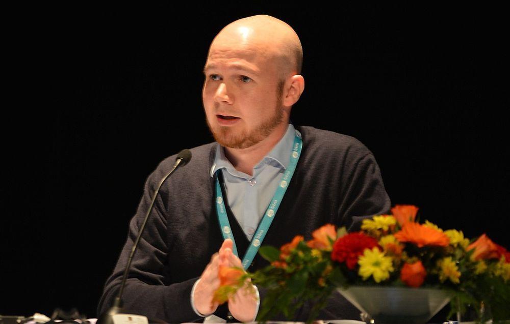 Eivind Soldal fra Statoil var styreleder for årets NSFMW.
