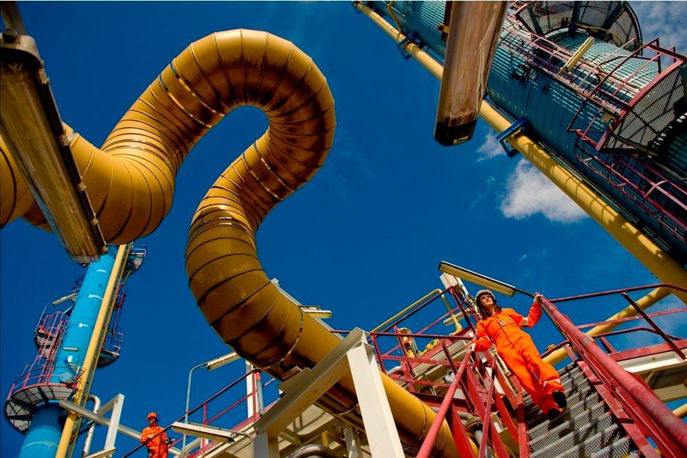 Det er nødvendig å måle komposisjon av gasser og kvalitetsrelaterte parametere for å bestemme energimengden i gasser, her fra Kårstø.