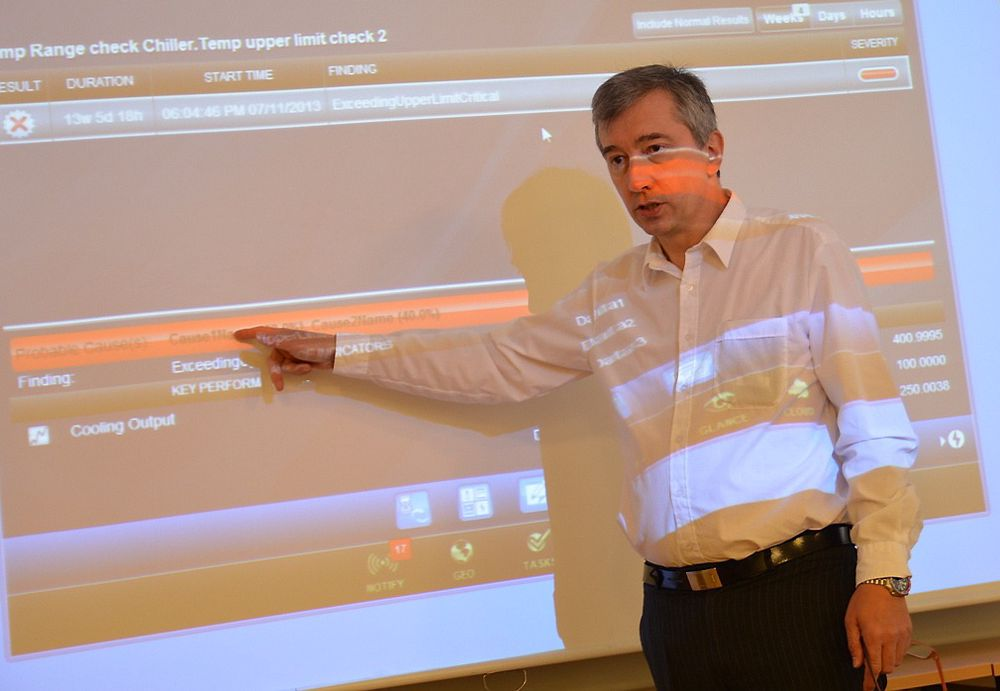Dr. Bernard E. Cubizolles i GE Intelligent Platforms frister med smartere alarmformidling, spesielt for mobile operatører.