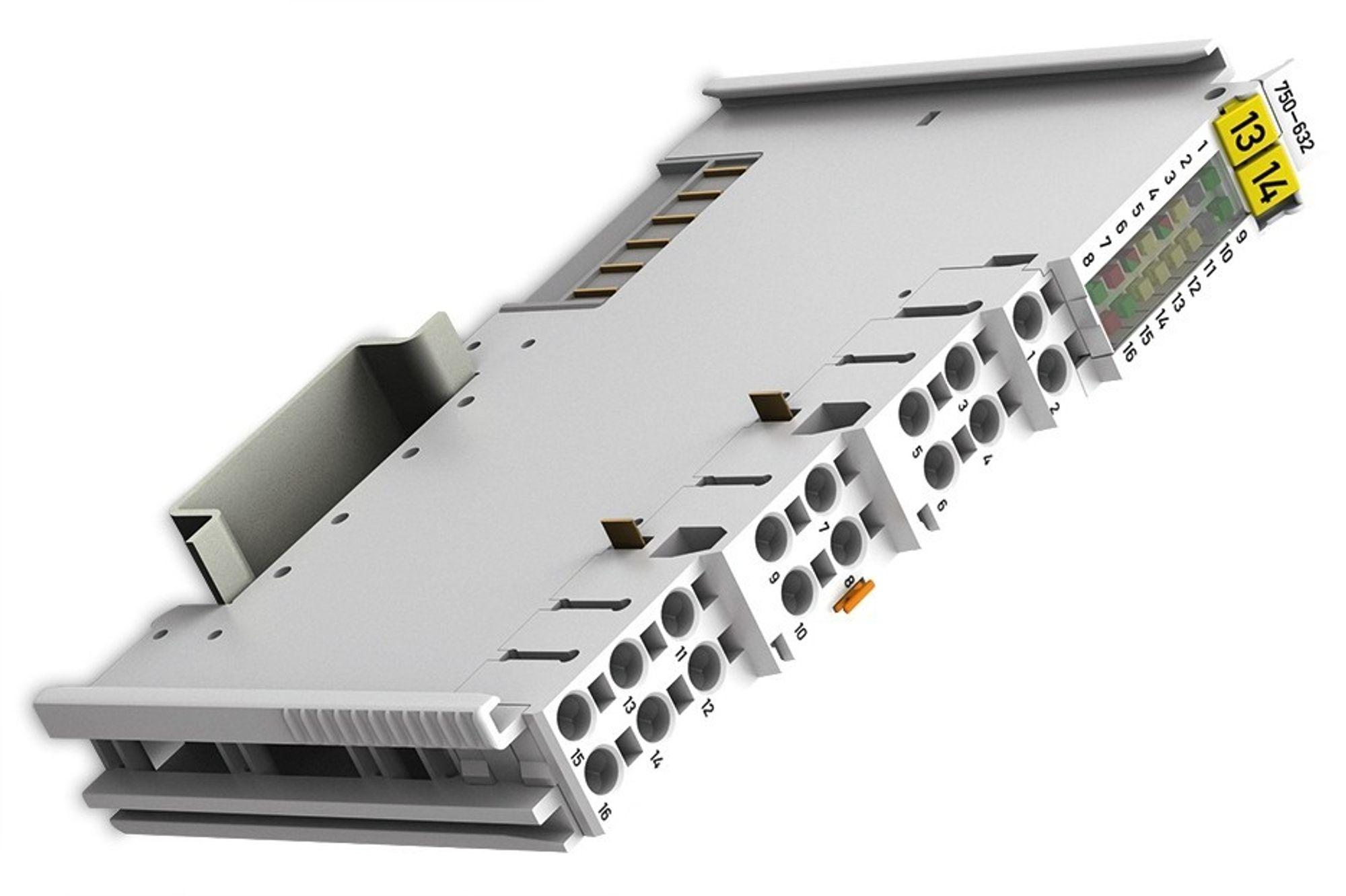Modul for direkte styring av hydrauliske- eller pneumatiske proporsjonalventiler uten ekstra forsterker for Wago og Siemens PLS-er (via Profibus DP).