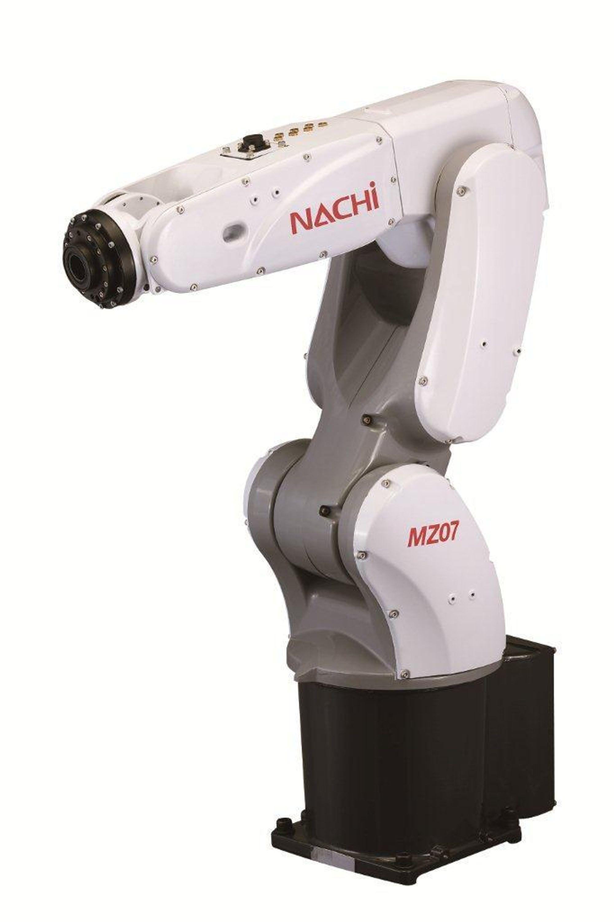Portal robot som kan kjøre pick'n place sykluser på 0,31 sekunder.