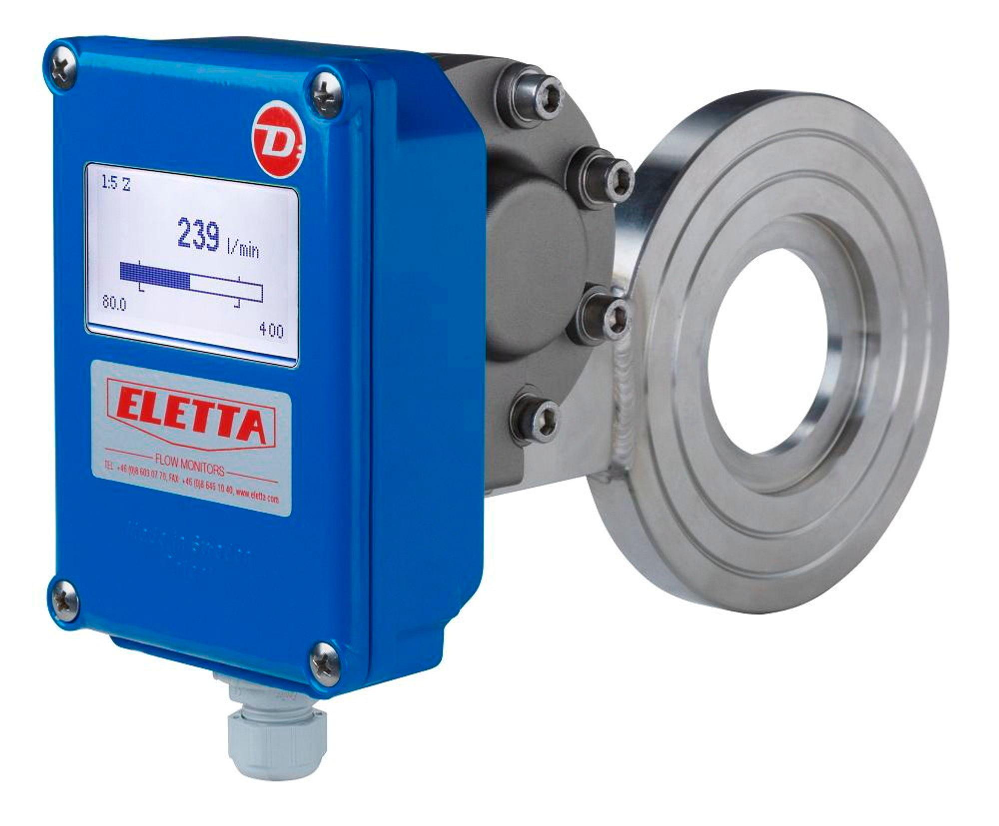 DP-måler fra DN15 til DN500 med flere monteringsmuligheter og materialvalg.