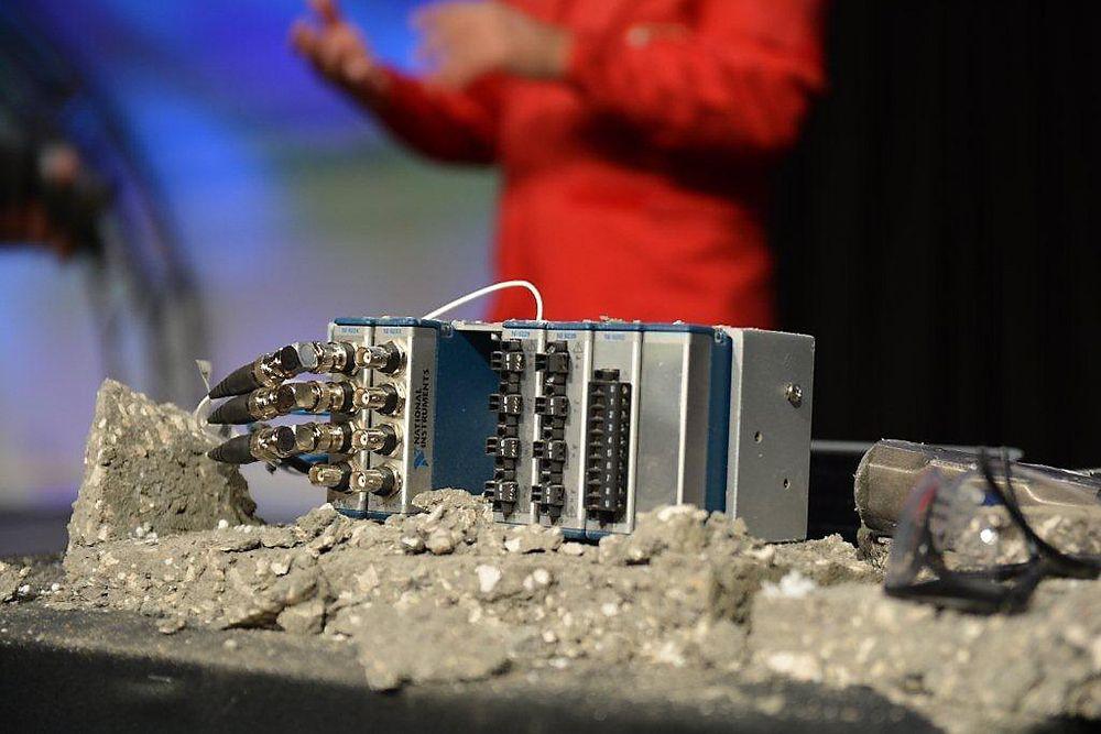Robust og distribuert I/O: National Instruments CompactDAQ-9188XT tåler sjokk, vibrasjon, ekstreme temperaturer og kan stå i Ex sone 2.