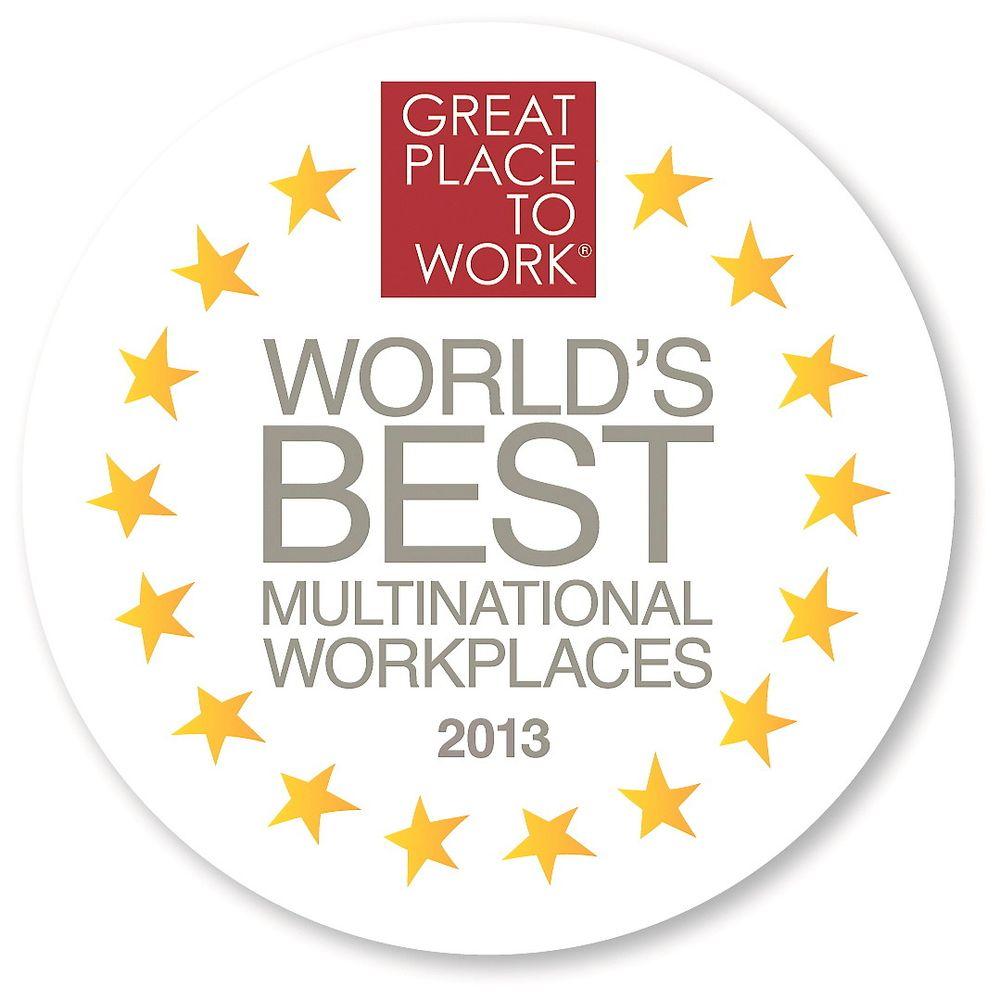 National Instruments er eneste automatiseringsaktør blant verdens 25 beste multinasjonale arbeidsgivere.