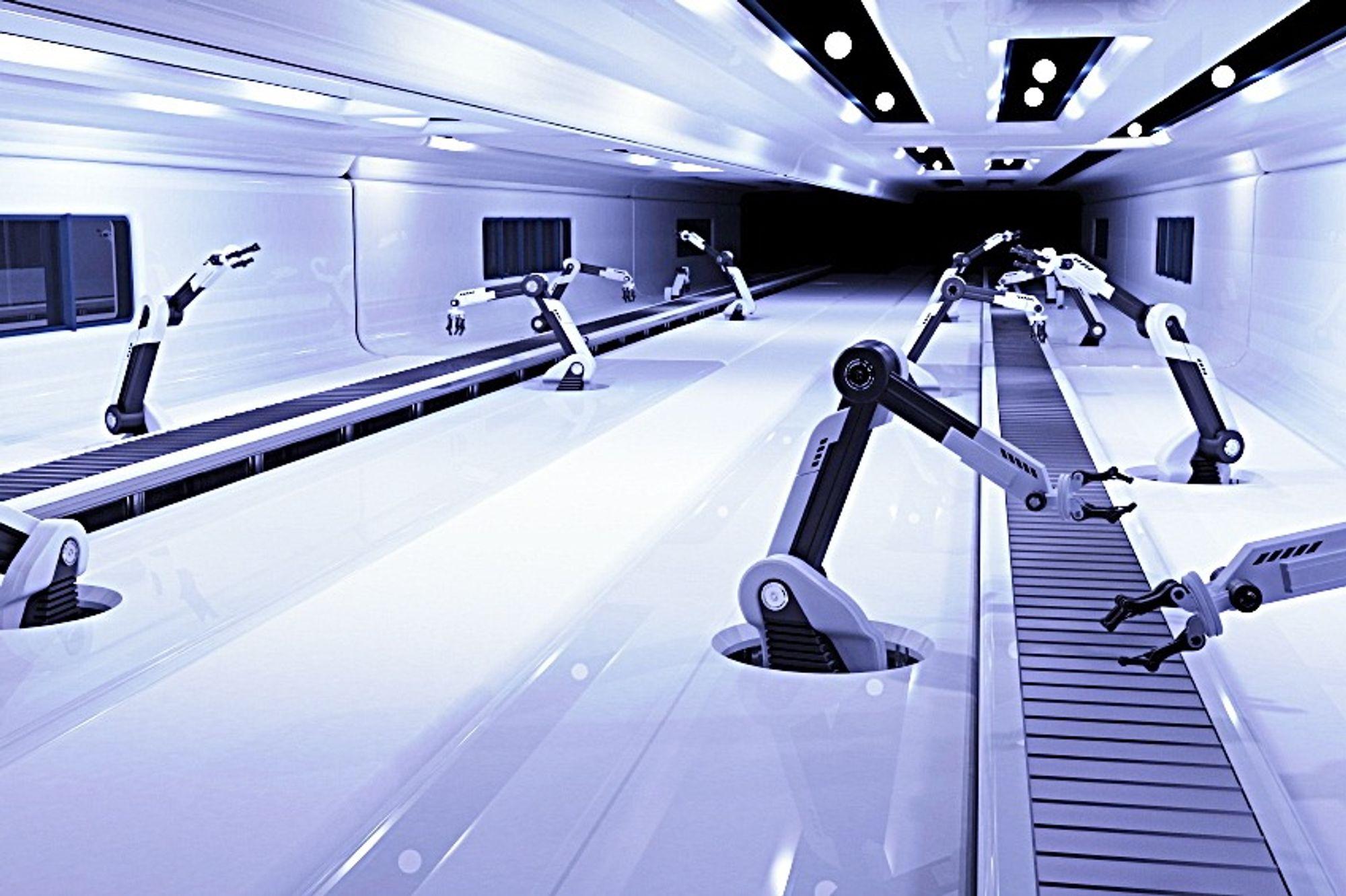 Morgendagens produksjonsteknologi settes under lupen i Kongsberg 4.-5. desember.
