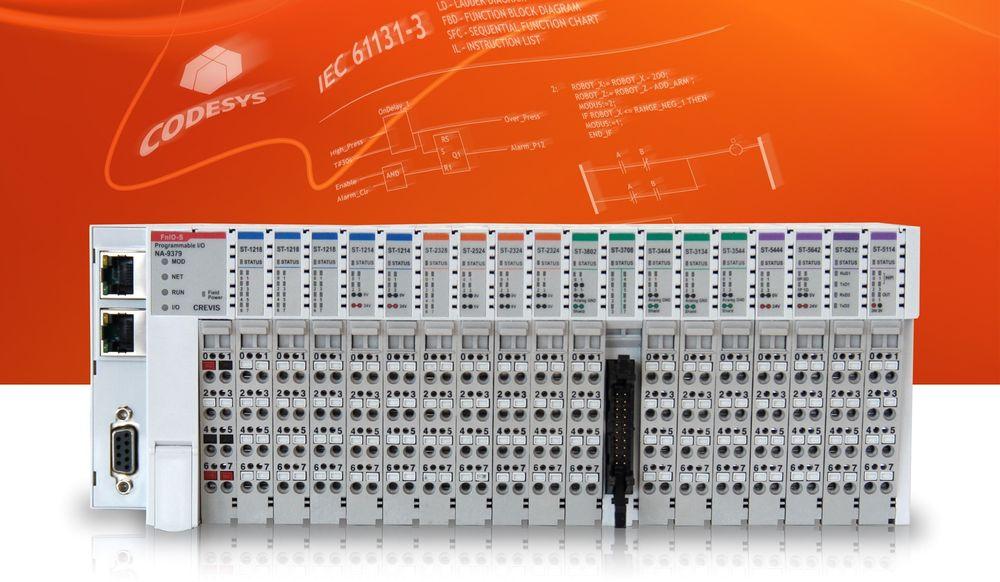 Programmerbare I/O-moduler som kjører Codesys-programmering skal håndtere oppgaver som på linje med kompakte PLS-er.