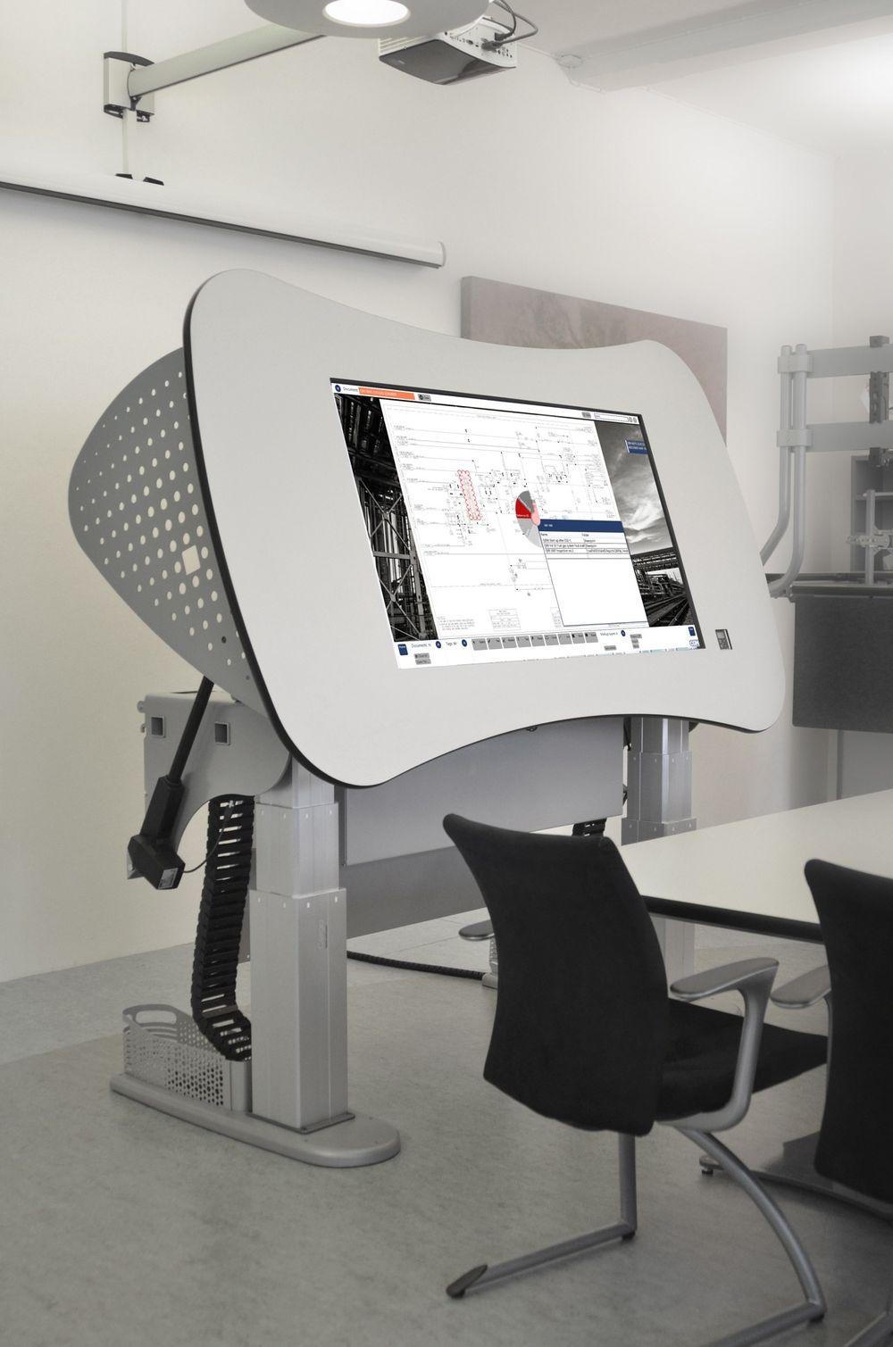 Samhandlingsbord med tilgang til dokumenter og integrasjonsmuligheter til andre driftssystemer.
