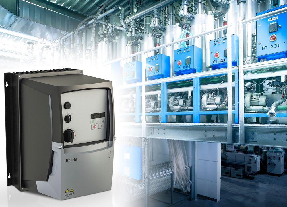 Frekvensomformere opptil 7,5kW i IP66 kan plassers kan plasseres ute i anlegget.