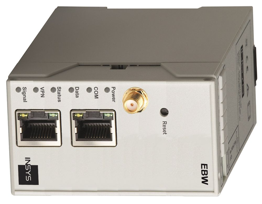 Eksempel på 3G-ruter fra Insys, som nå fås hos Catena.