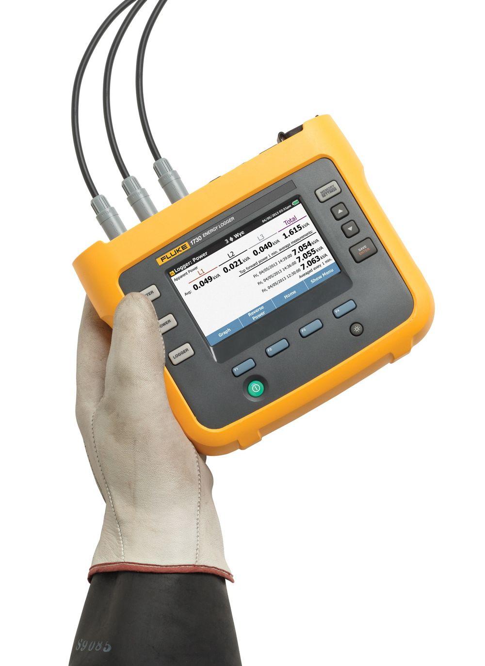 Trefase energilogger som skal ha idiotsikkert oppsett og være fullspekket med funksjoner for å identifisere energitap.