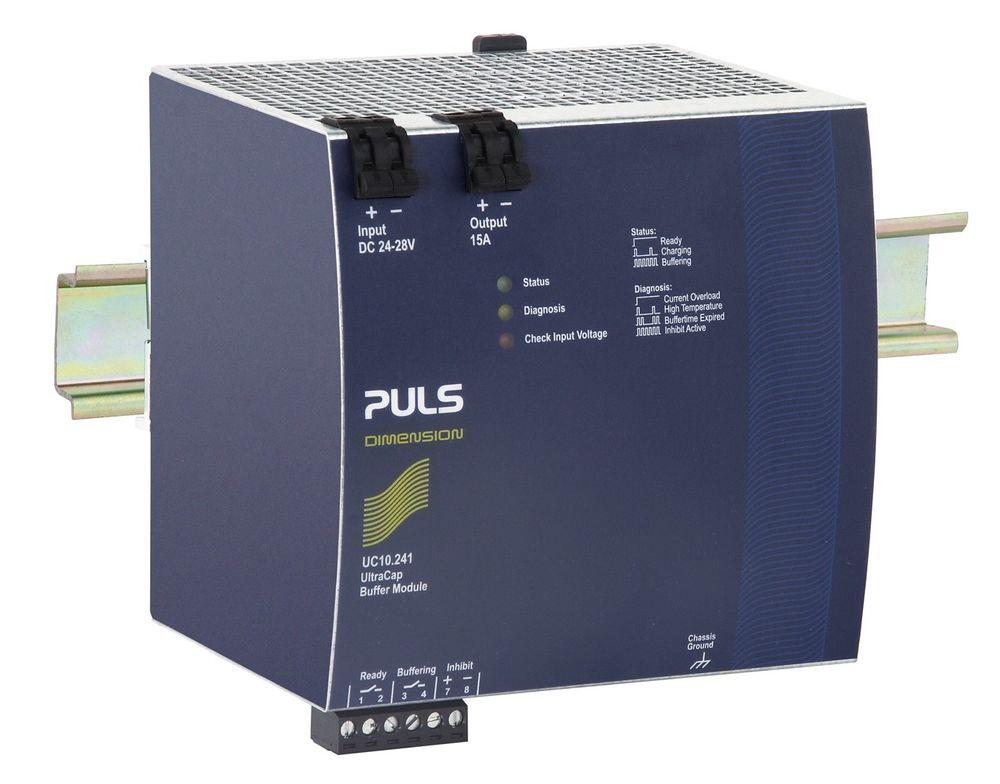 Strømforsyninger med parallellkoblede superkondensatorer sørger for konstant strøm selv om matespenningen sliter.