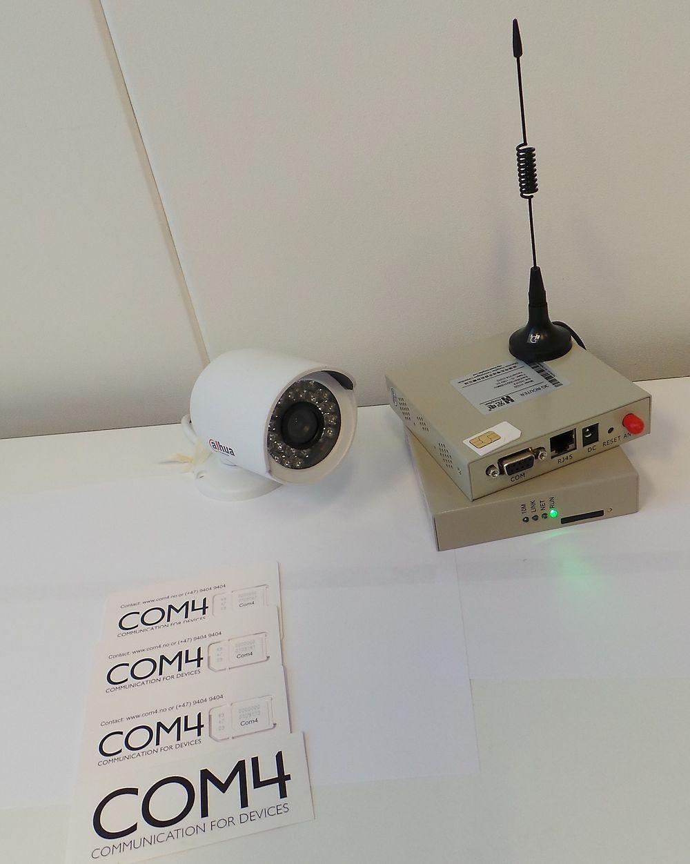 Autic System og COM4 har gått i kompaniskap for å levere komplette maskin-til-maskin-kommunikasjon (M2M).