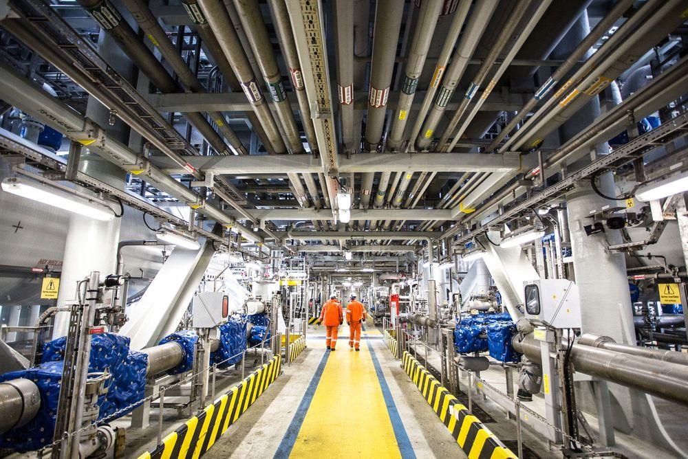 BP annonserer at de skal kutte kraftig i antall ansatte i Nordsjøen. Her fra Skarv.