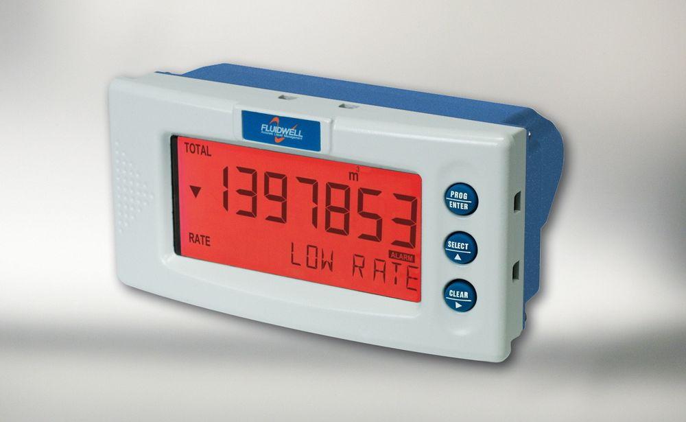 Prosessindikatorer i IP67 som kan skifte bakgrunnsbelysning, for eksempel til rødt ved alarm.