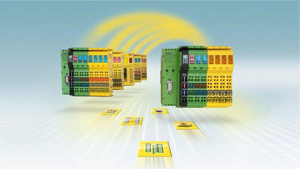Phoenix Contact ekspanderer den modulære og nettverksuavhengige SafetyBridge med 16 kanals DI-modul og en ny logikkmodul.