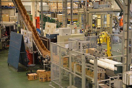 Også Lilleborg har tatt i bruk robotisering i pakkeridelen.