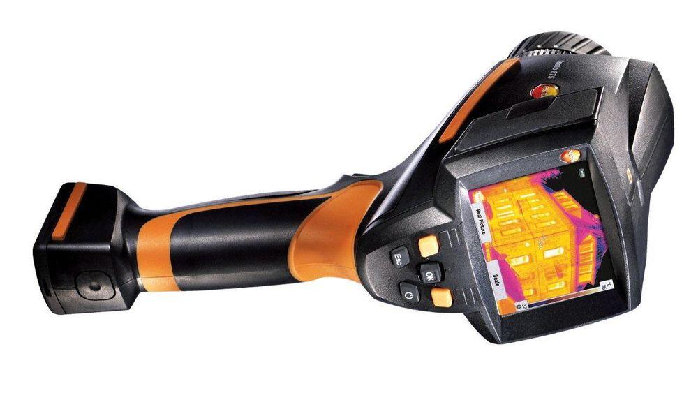 Thermokamera som stiller med superoppløsning på 160 ganger 120 bildepunkter.