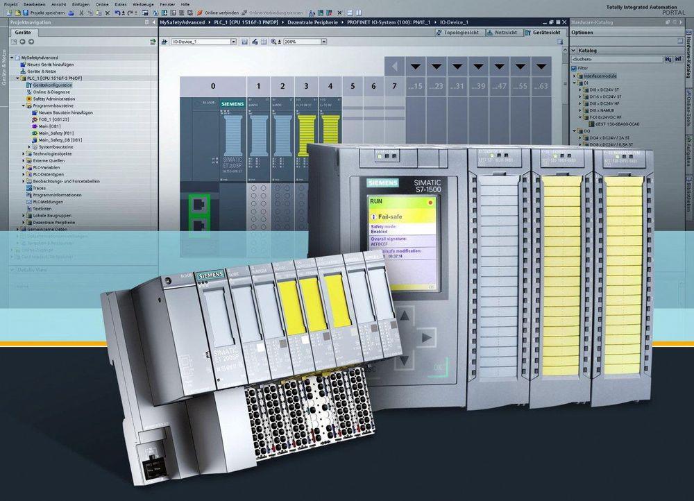 Siemens er på banen med sikkerhetsfunksjoner for sin nye Simatic S7-1500 PLS-familie.