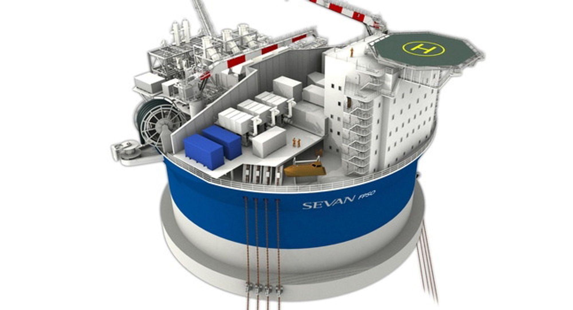 ABB leverer SAS, IMS, telekom og elektro til Dana Petroleums FPSO utenfor Shetland (Illustrasjonsfoto).