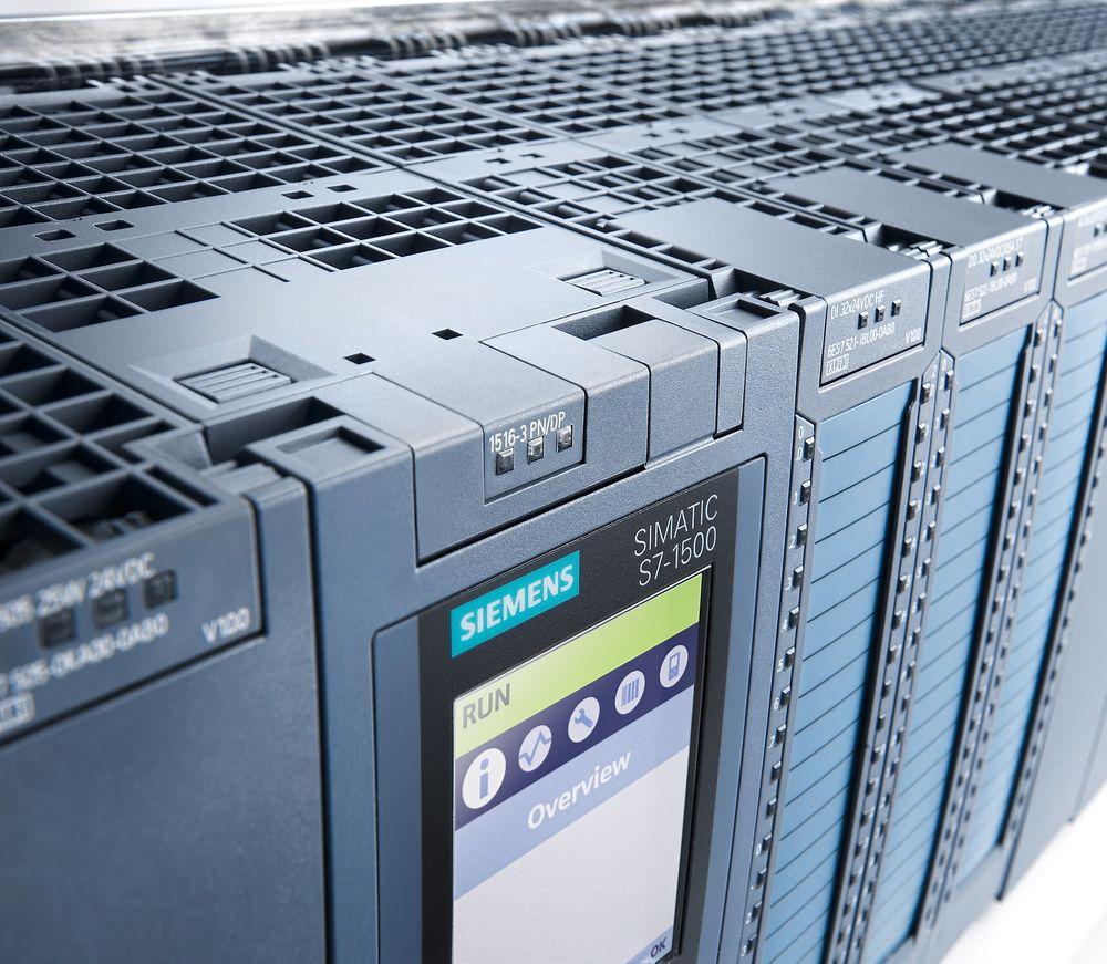 Siemens første kontrollere i S7-1500-serien er på plass.