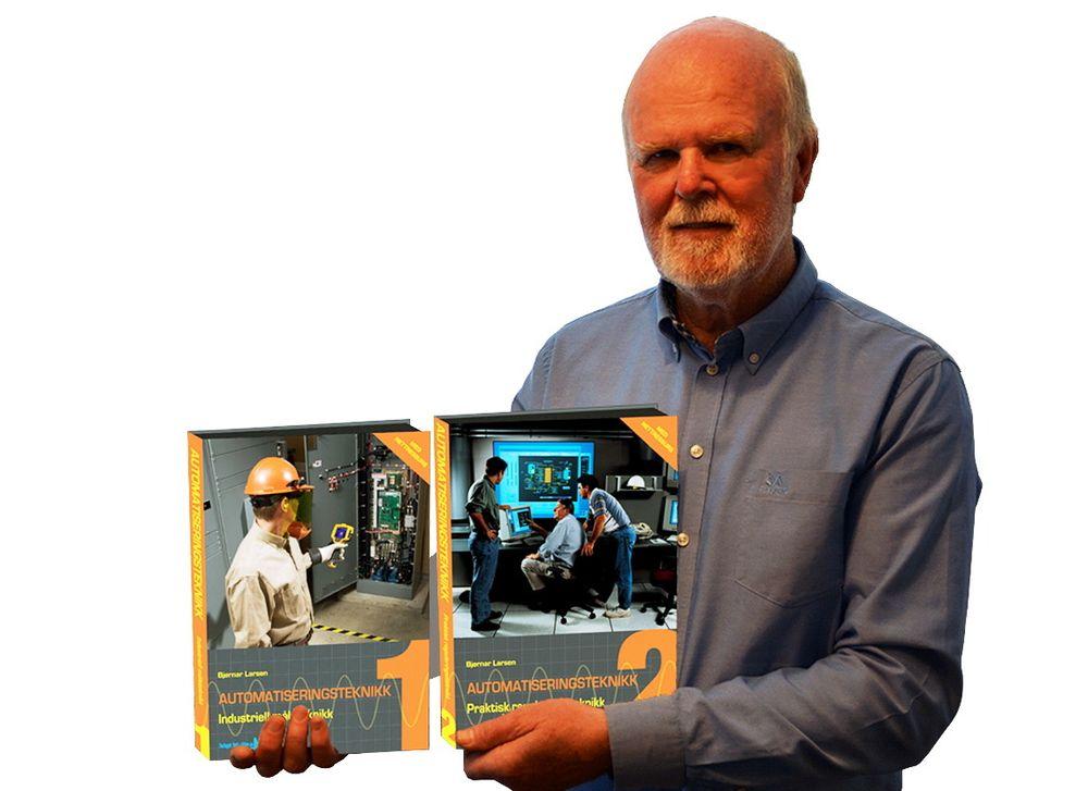Bjørnar Larsen er ute med nye lærebøker i automatiseringsteknikk, med stor vekt på nettressurser.