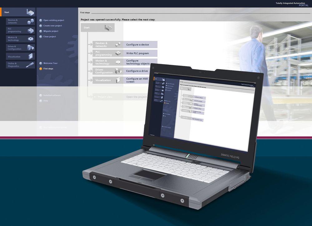 Nytt programmeringsverktøy for Siemens PLS-er og HMI-løsninger.