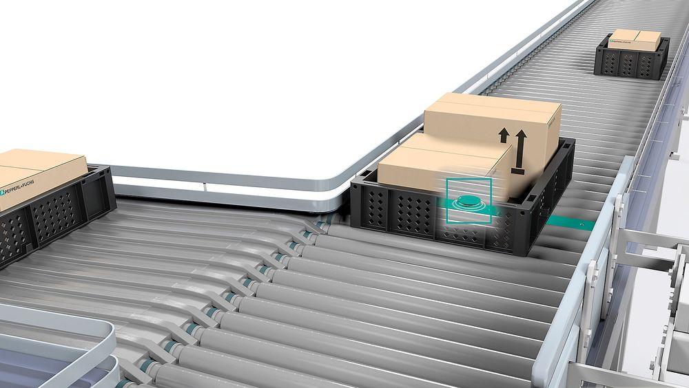 Radiobrikker, eller RFID, kan brukes til automatisk styring av produksjonen eller logistikkløsninger.