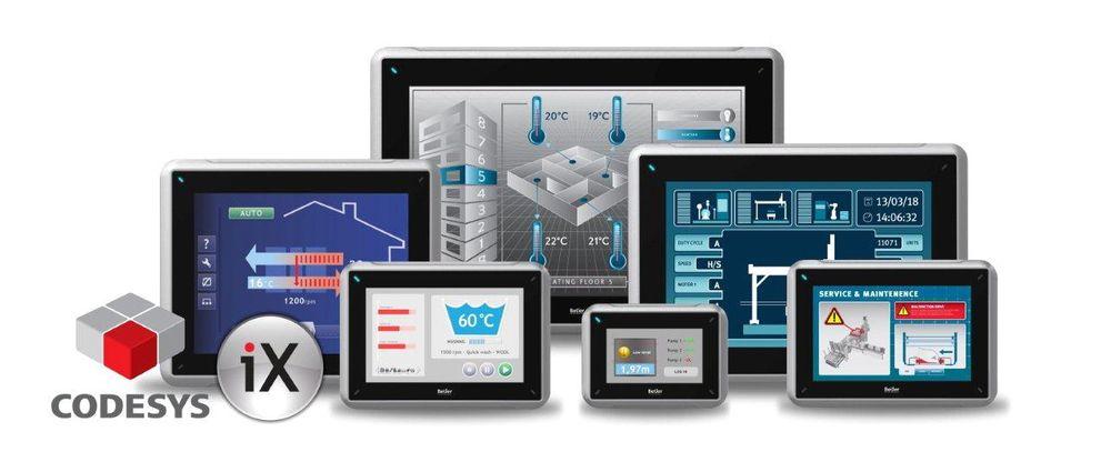 Kraftige paneler med PLS-funksjonalitet og superrask kommunikasjon, for eksempel Ethercat.