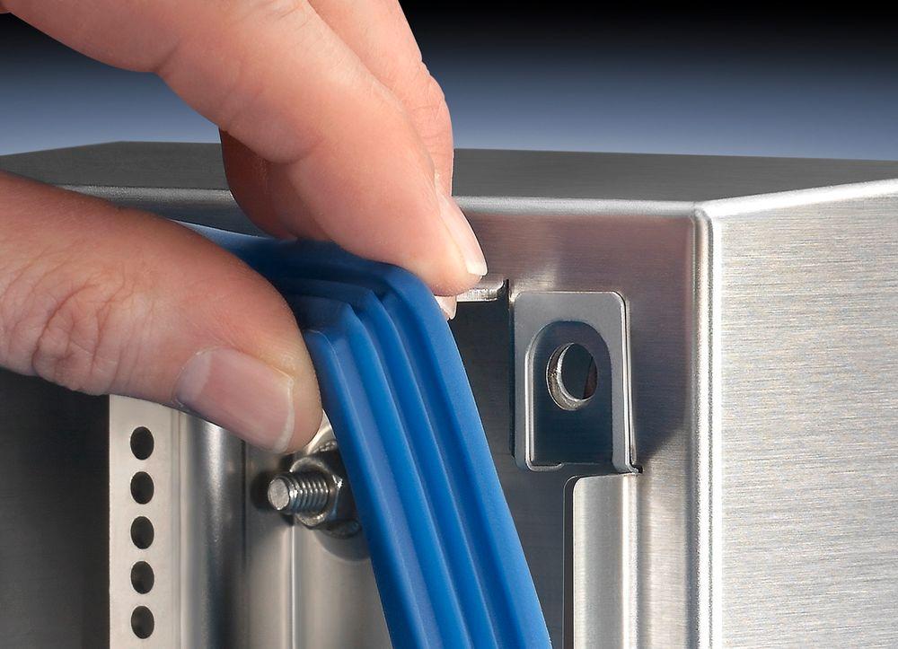 Silikonpakninger gjør susen for hygieniske innkapslingsløsninger.