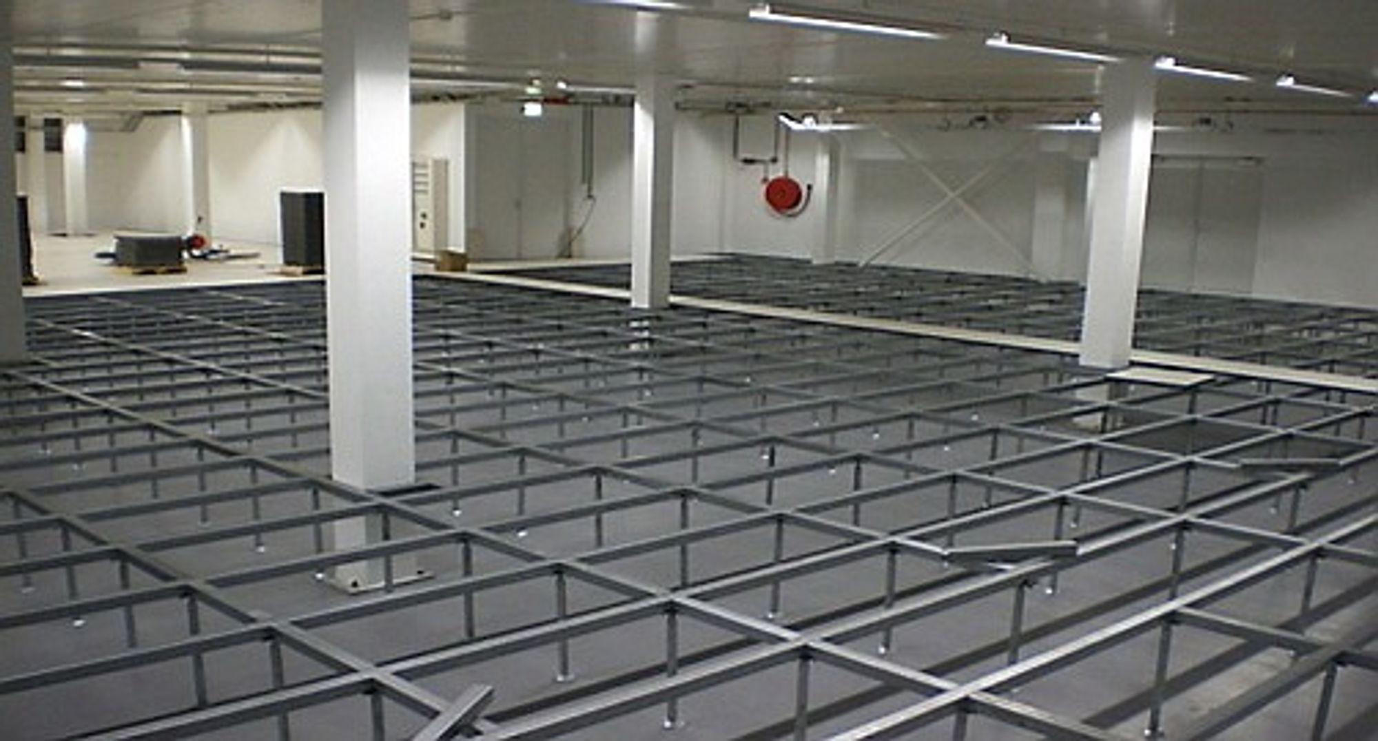Fleksibelt installasjonsgulv som blant annet kan brukes som jordingsnett.