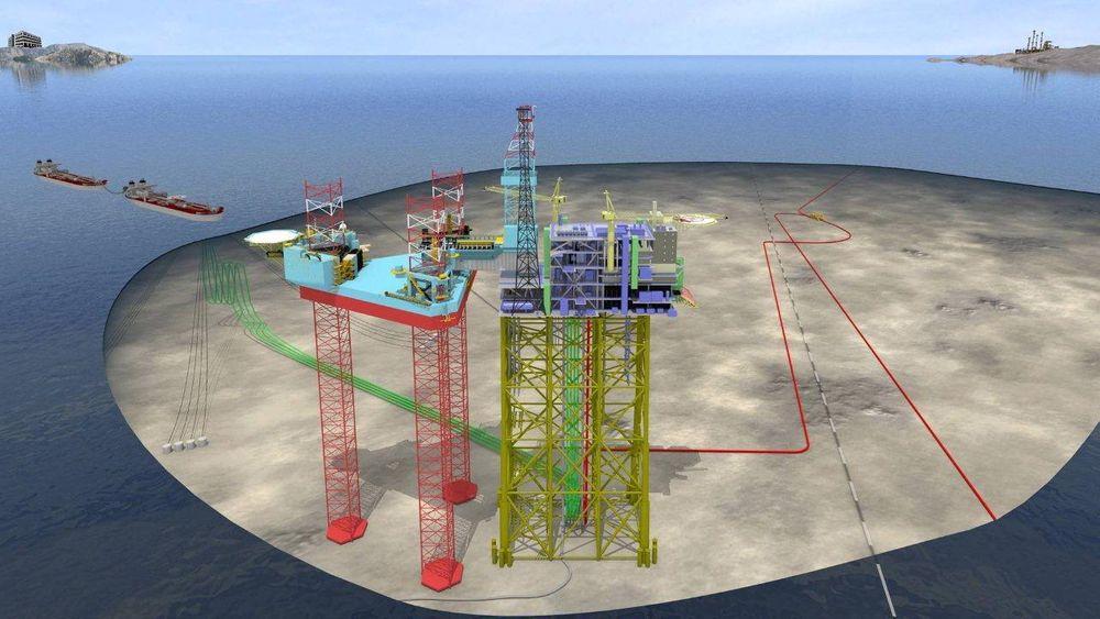 Martin Linge-feltet ligger i Nordsjøen. Nå overtar Statoil operatørskapet i prosjektet.