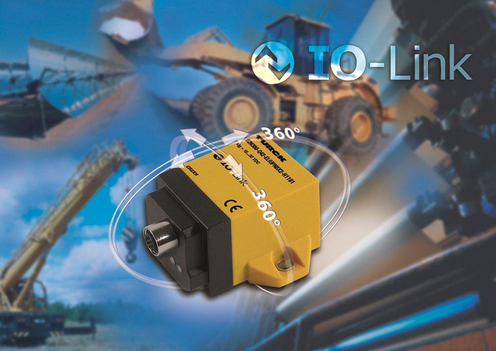 Fleksibelt og konfigurerbar inklinometer som skilter med dobbelt 360 graders måleområde.