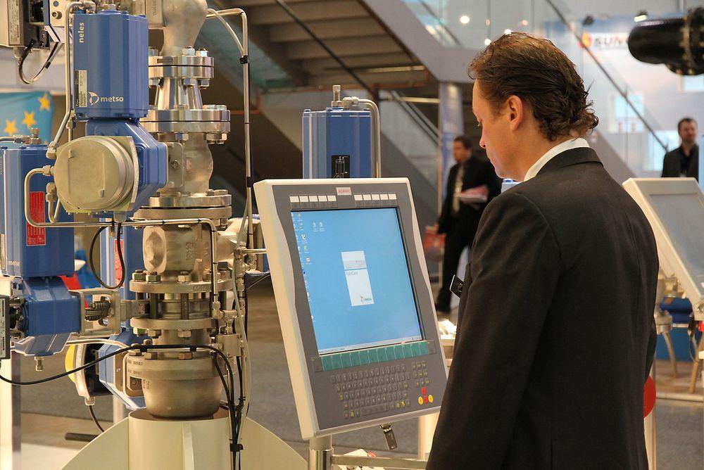 Automatiseringsbransjen stiller sterkt på Nor-Shipping 2013Automatiseringsbransjen stiller sterkt på Nor-Shipping 2013.