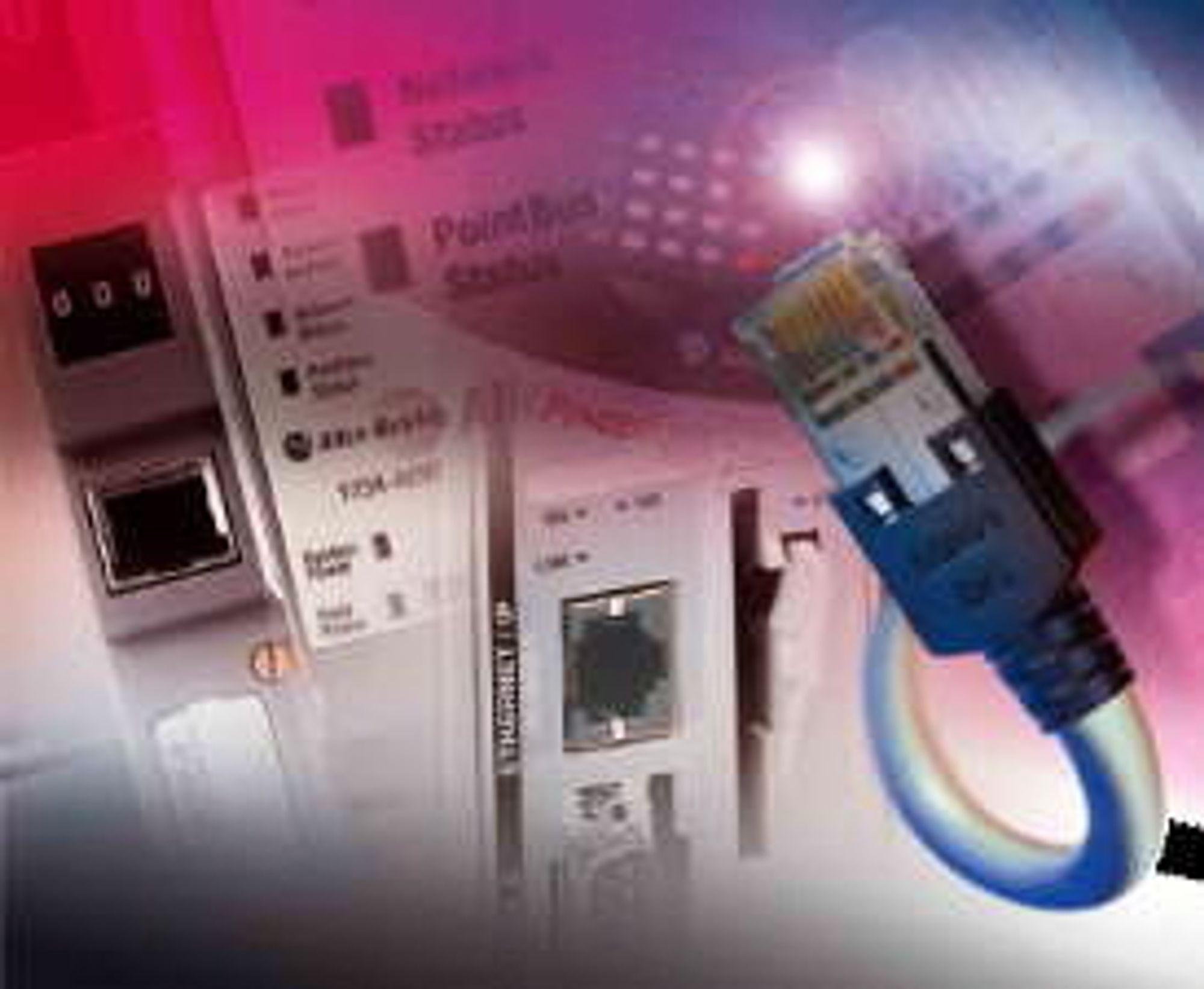 Industrielt Ethernet har kommet for å bli, og Ethernet/IP (Industrial Protocol) er blant de mest populære