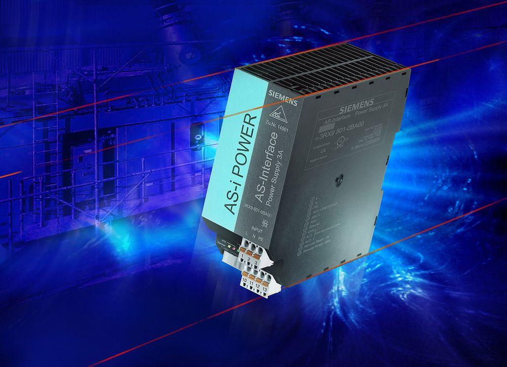 Strømforsyningen er hjertet i AS-Interface.