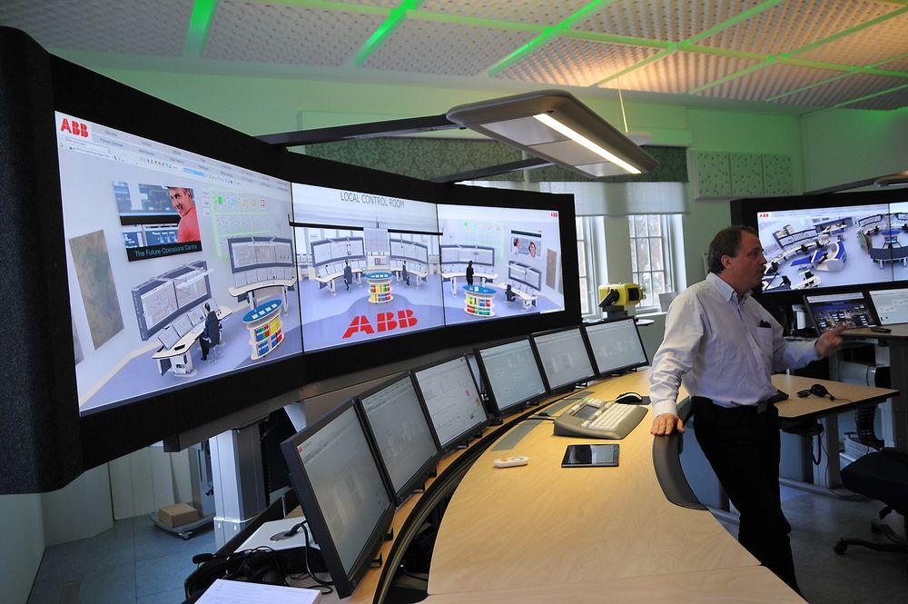 LED-lysene over operatørene kan kombineres med lyddusj og støyreduserende materiale, samtidig som varmefargen kan endres automatisk med langsomme sveip.