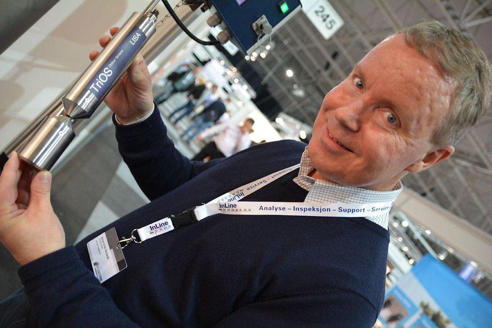 Knut Erik Boland i Inline Prosess hadde med seg en ny optisk giver for absorbans av elektromagnetiske bølger på 254 nm, nemlig Lisa fra Trios.