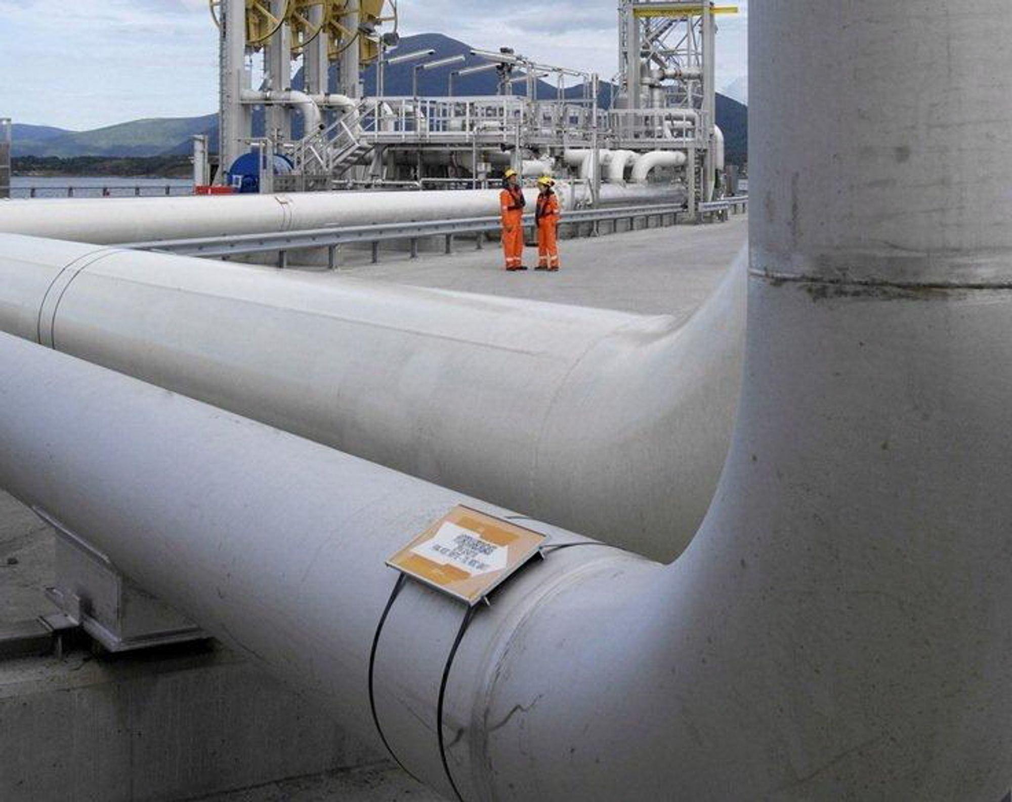 Shell kjører Coriolis på eksport av olje fra Nyhamna, altså Ormen Lange.