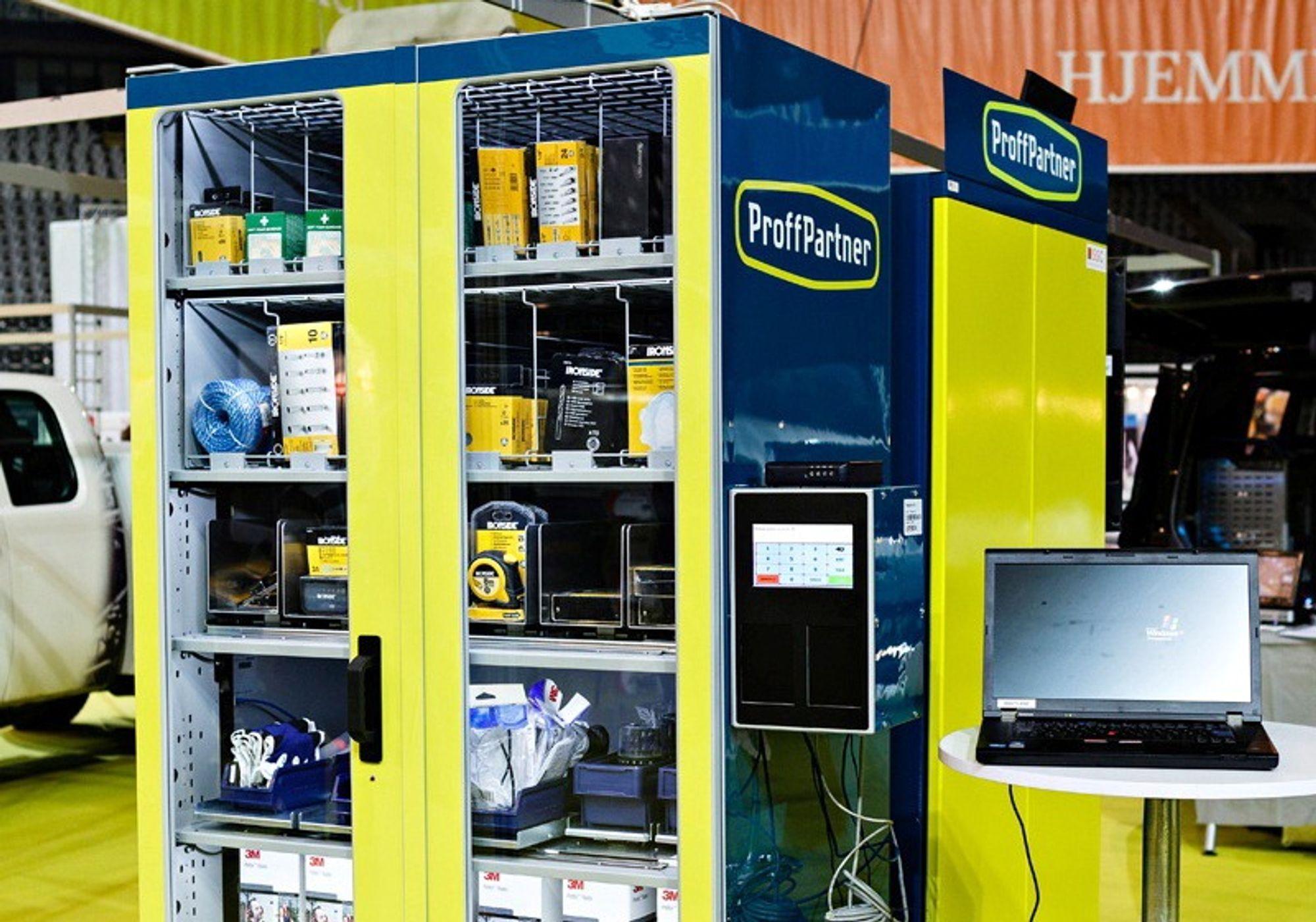 Automatisk håndtering av forbruksvarer gir bedre kontroll på lagerbeholdning og innkjøpsprosesser.