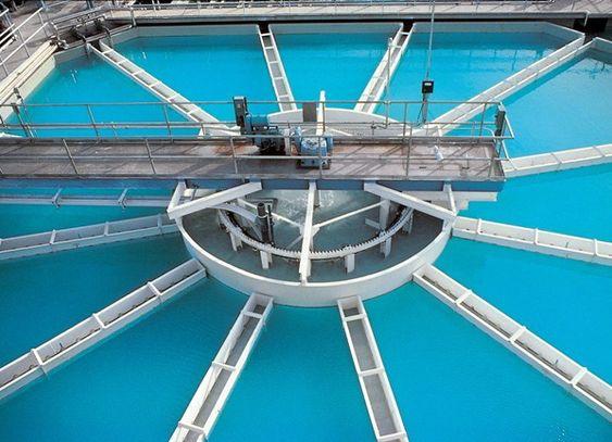 Turbiditet er ofte en kvalitetsparameter, for eksempel i vannverk eller avløpsanlegg (Ill. Siemens).