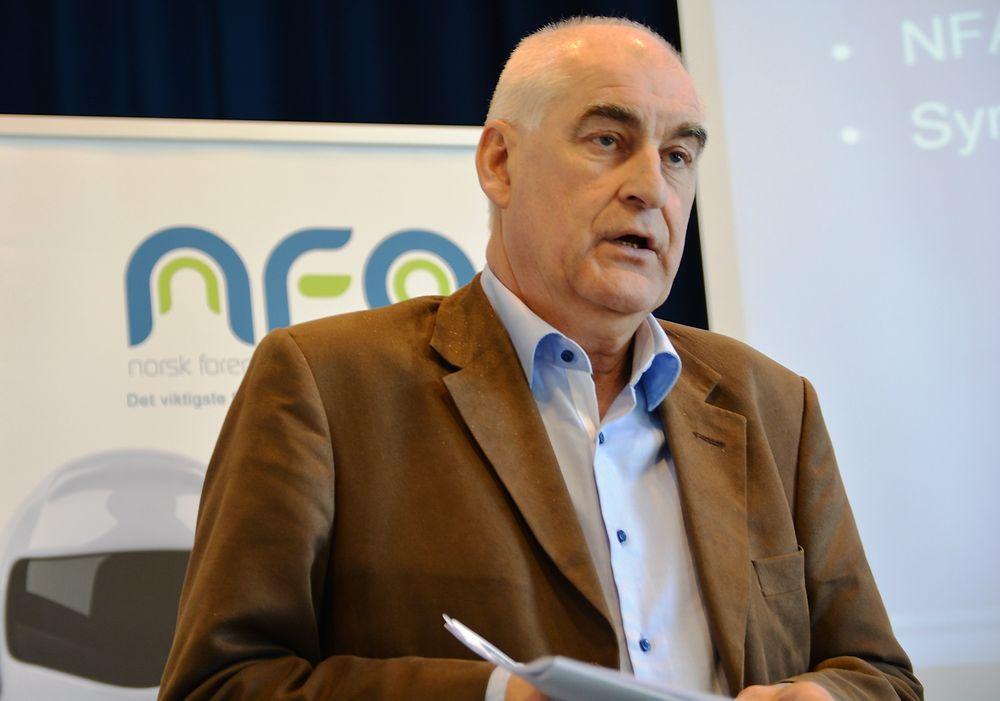 Lars Annfinn Ekornsæter, adm. dir. i NFA, mener at automatisering stadig oftere blir omtalt i det offentlige rom.
