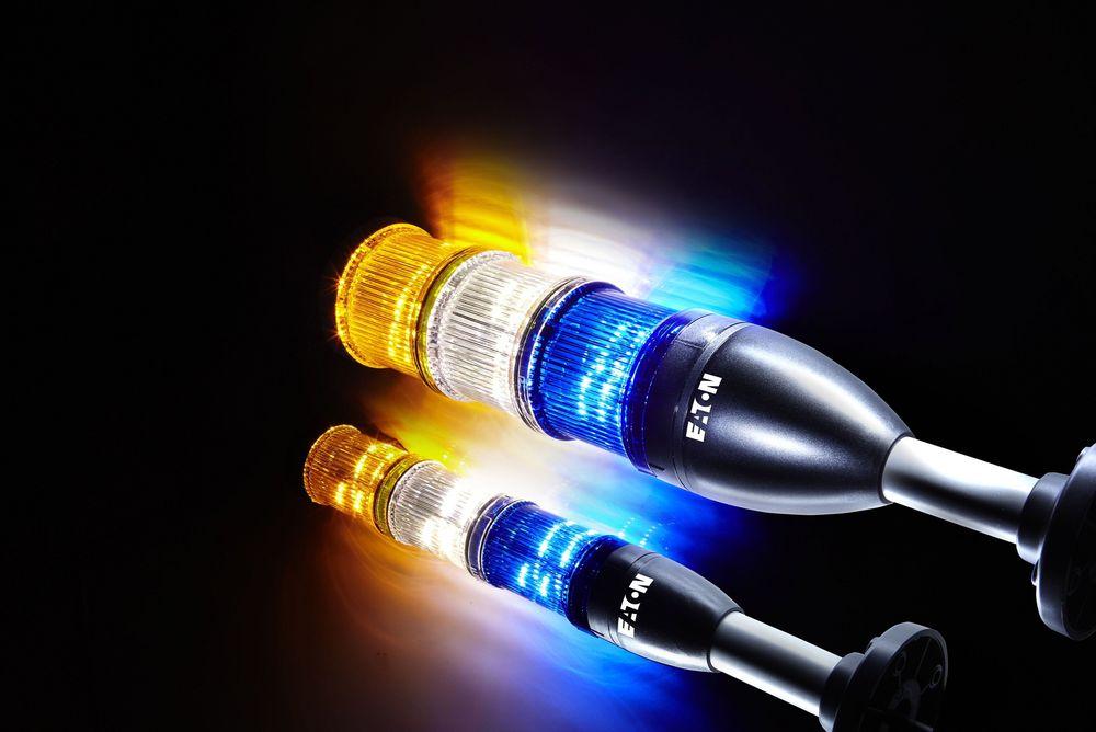 Nye signaltårn med LED eller høyytelses LED for ekstra god synlighet.