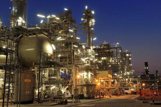 Det blir stadig flere gassmålinger, som her ved Shells Pearl GTL i Qatar.