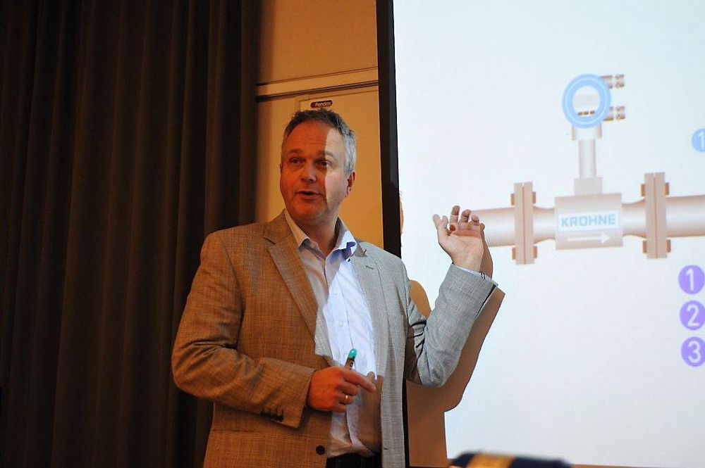 Direktør Eivind Omarhaug hos Krohne slår et slag for flere Vortex-målinger av gasser.