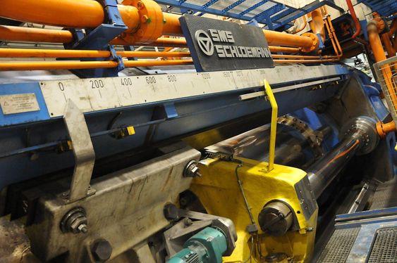 Det er store krefter – og energibehov – i sving når presser på inntil 6500 tonn ekstruderer aluminiumsprofiler.