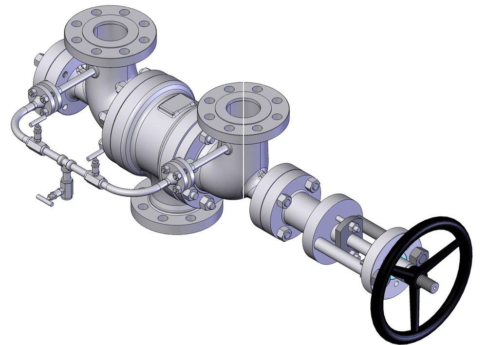 Change Over ventiler kan gjøre susen som sikkerhetsventiler.