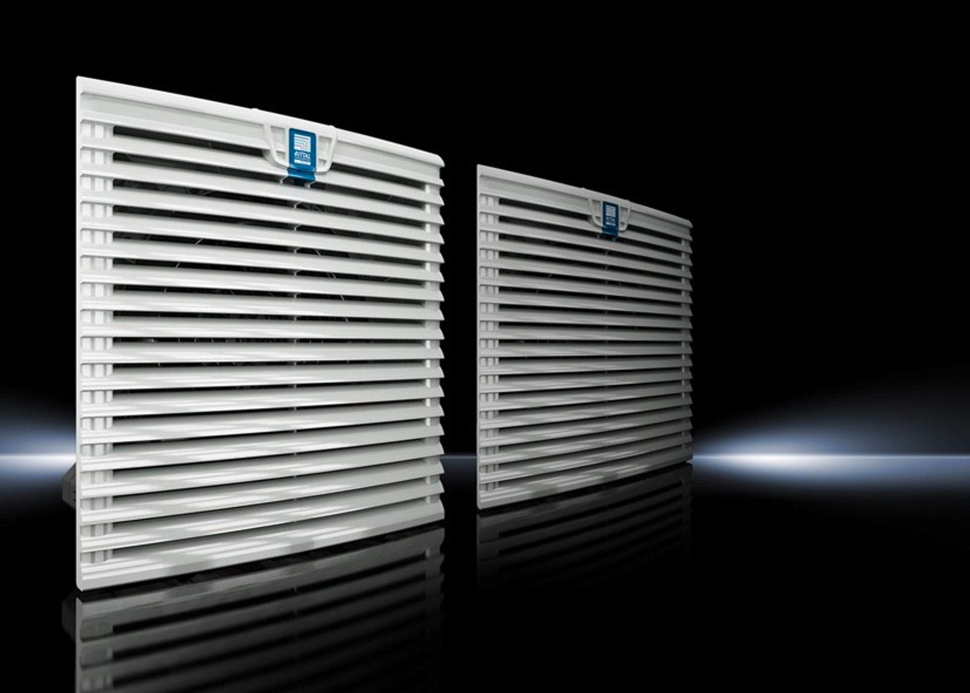 Filtervifte med likestrømsmotor, smarte styringsløsninger og spesielt god luftstrømming skal redusere energiforbruket hele 63 prosent.